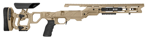 Cadex Defence, Field Tactical Chassis, Skeleton Stock, Rem700, Short Action, Right Hand, Tan