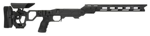 Cadex Defence, Lite Competition Chassis, Skeletonized Folding Stock, Rem700, Short Action, Right Hand, Black