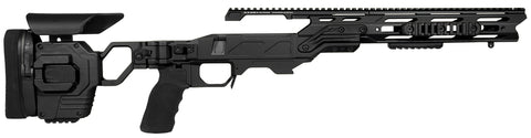 Cadex Defence, Lite Strike Chassis, Rem700, Short Action, Right Hand, Black
