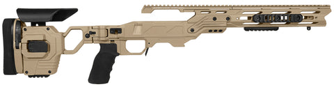 Cadex Defence, Lite Strike Chassis, Rem700, Short Action, Right Hand, Tan