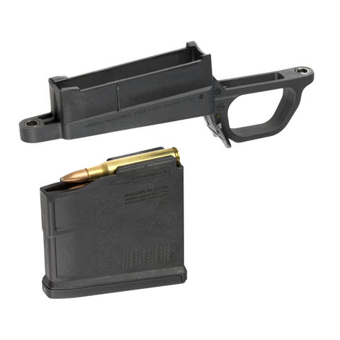 Magpul Bolt Action Magazine Well, Hunter 700L Standard, 30-06 SPRG PMAG 5RD, BLK