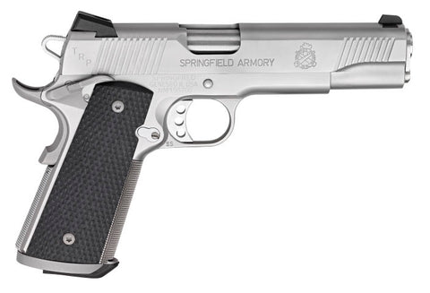 "Springfield Armory, TRP Model 1911, 5.00"" Barrel, Stainless Steel, 45 ACP"