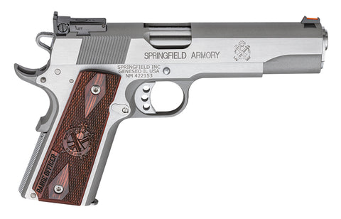 "Springfield Armory, Range Officer 1911, 5.00"" Barrel, Stainless, 45 ACP"