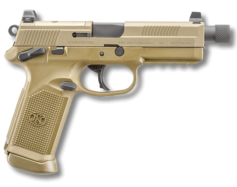 "FNH, FNX-45 Tactical, 5.30"" Barrel, FDE, 45 ACP"