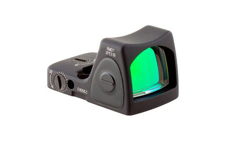 Trijicon RMR Type 2 Adjustable LED Reflex Sight, 6.50 MOA Red Dot, Black