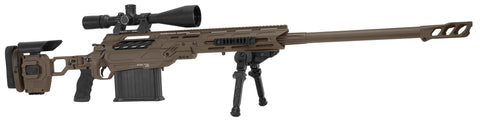 "Cadex Defence, Tremor 50 Rifle, 50 BMG, 29.00"" Barrel, DX2 Trigger, MX1 Muzzle Brake, Stealth Shadow Vortex"