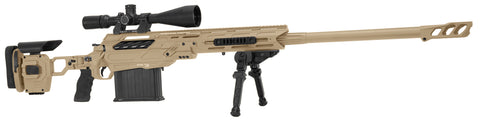 "Cadex Defence, Tremor 50 Rifle, 50 BMG, 29.00"" Barrel, DX2 Trigger, MX1 Muzzle Brake, Tan"