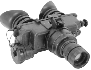 General Starlight Company, PVS-7-MA1 GEN 2+ Single-Tube Dual-Eye Tactical Nightvision Goggles, FOM 1250