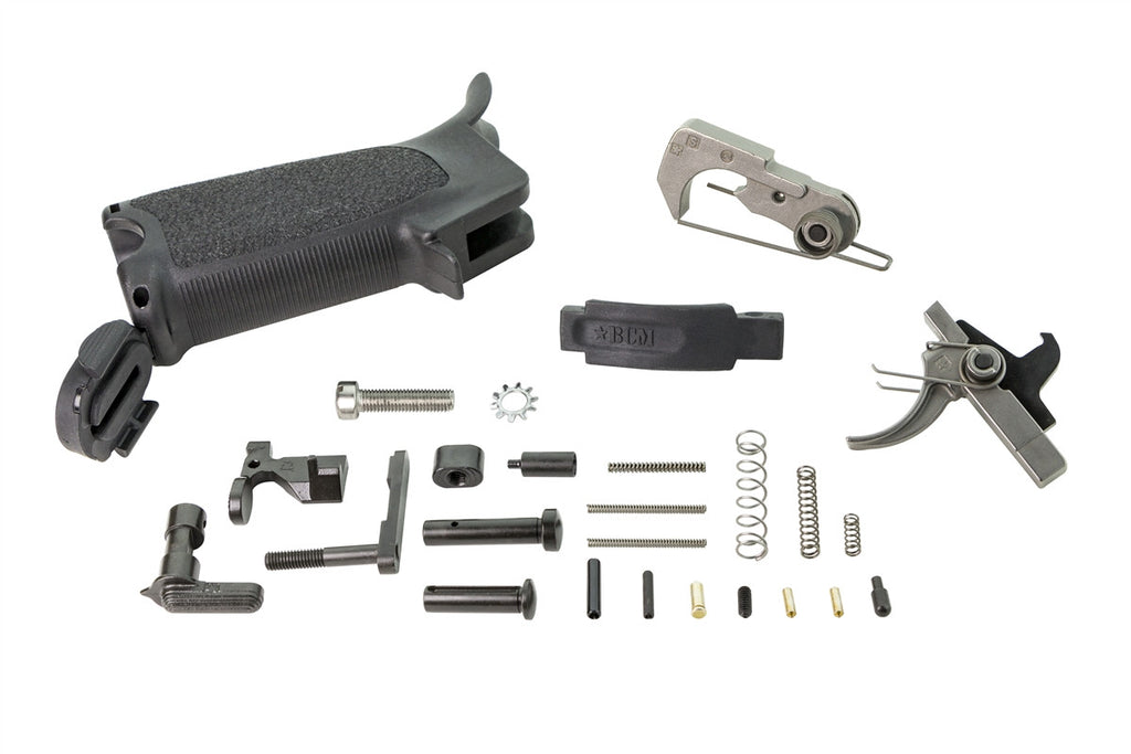 Bravo Company USA, Enhanced Lower Parts Kit, Black
