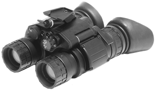 General Starlight Company, PVS-31C-MA1 GEN 2+ Dual Tube Tactical Nightvision Goggles, FOM 1250