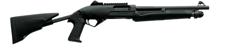 "Benelli Super Nova Tactical Pump Shotgun, 14.0"" Barrel, Black Synthetic Pistol Grip Stock, Adjustable, 12 GA"
