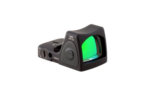 Trijicon RMR Type 2 Adjustable LED Reflex Sight, 3.25 MOA Red Dot, Black