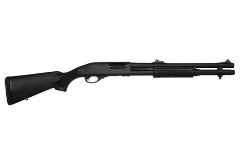 "Remington 870 Police, 18.00"" Barrel, 2 Shot Extension, Bead Sight, 12 GA"