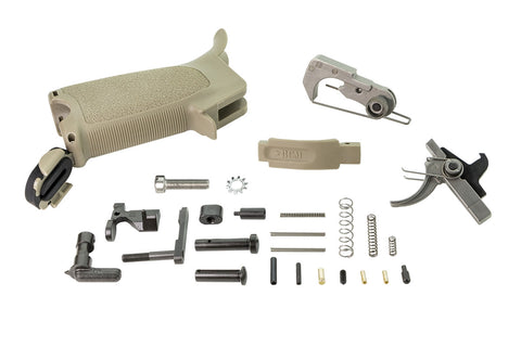 Bravo Company USA, Enhanced Lower Parts Kit, Flat Dark Earth