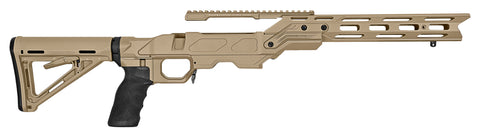 Cadex Defence, Urban Strike Chassis, Rem700, Short Action, Right Hand, Tan