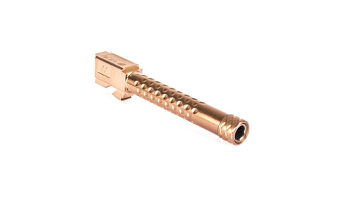 ZEV Technologies, Glock 17 Dimpled Threaded Barrel, Bronze