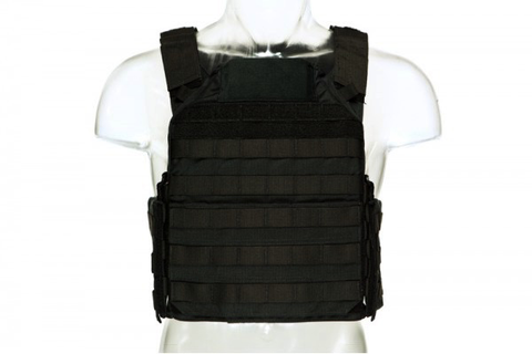 Blue Force Gear, LMAC Armor Carrier, Black, Large, 11x14 Front/Back, 6x8 Side