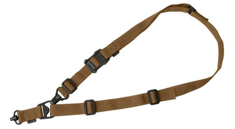 Magpul MS3 Multi Mission Sling System, Single QD, GEN2, COY