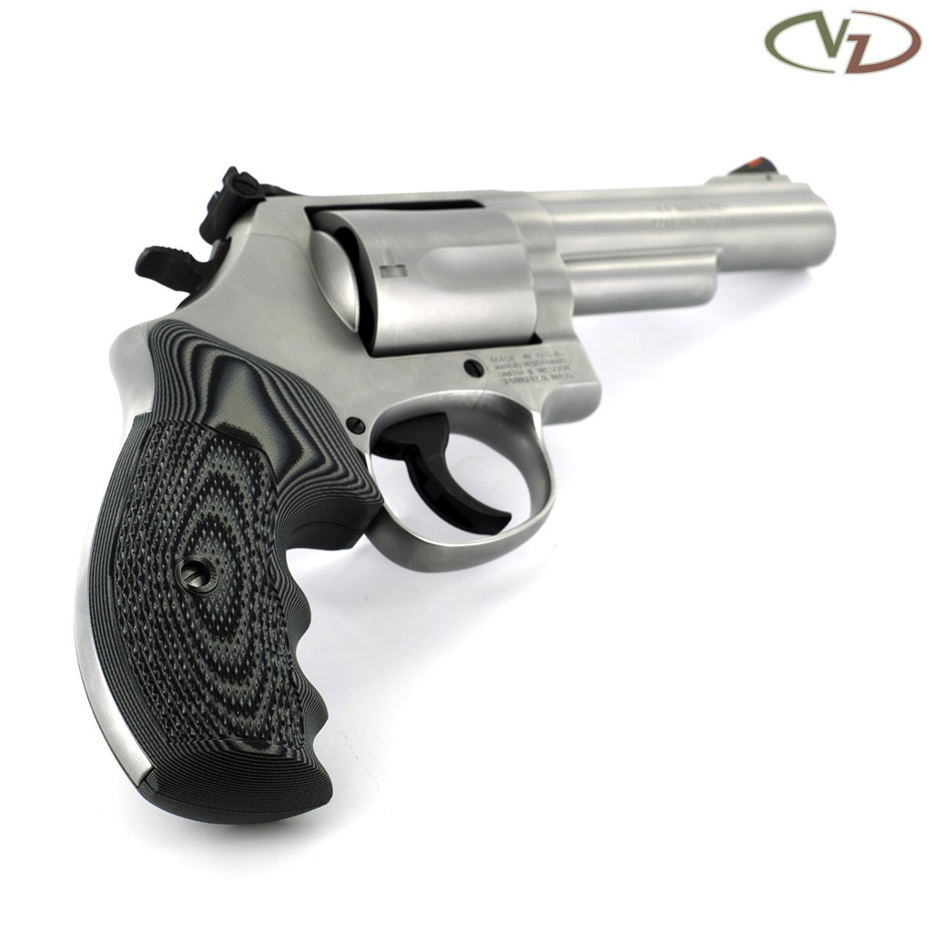 VZ Grips Smith & Wesson K/L Frame, Tactical Diamond, Black Grey