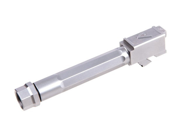 Agency Arms, Glock 17 Fluted Threaded Barrel, Stainless