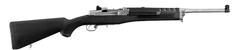 "Ruger Mini-30 Ranch Rifle, 18.50"" Stainless Barrel, Synthetic Stock, 7.62X39"