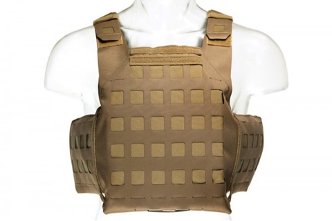 Blue Force Gear, PLATEminus V2 Armor Carrier, Coyote Brown, X-Large, 11x14 Front/Back, 6x6 Side