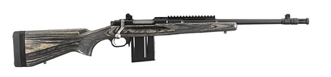 "Ruger Gunsite Scout Rifle, 16.10"" Threaded Barrel, Black Laminate, 308 WIN"