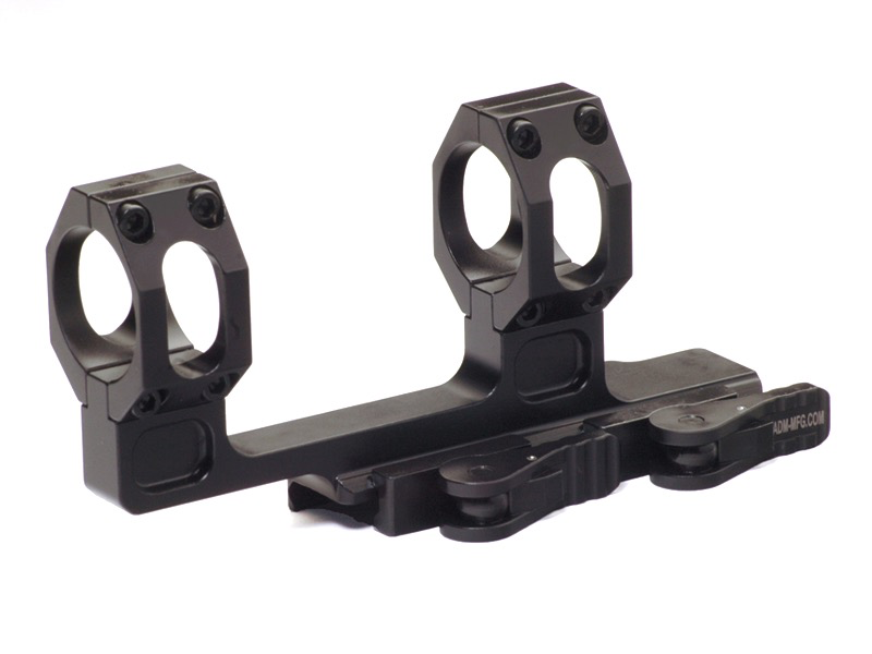 American Defense Recon Scope Mount, H Type, 30mm, QD Lever