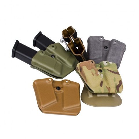 G-Code Holsters, GDM RTI Kydex Pistol Magazine Carrier, Glock 9mm/40S&W, Coyote Tan
