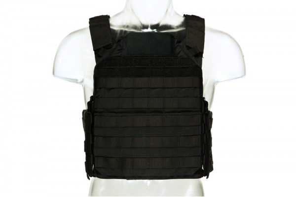 Blue Force Gear, LMAC Armor Carrier, Black, Medium, 10x12 Front/Back, 6x8 Side