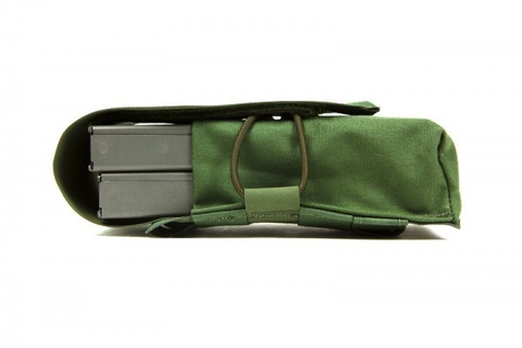 Blue Force Gear, Double M4 Magazine Pouch, OD Green