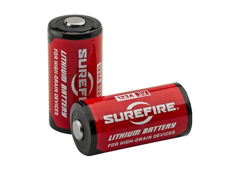 SureFire 123A Lithium Battery, Single Battery