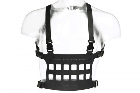 Blue Force Gear, Micro Rack Chest Rig, Black, Large