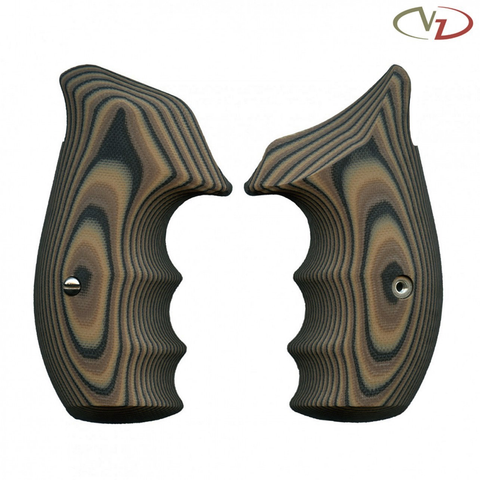 VZ Grips Smith & Wesson K/L Frame, 320 Smooth, Hyena Brown