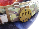 G-Code Holsters, RTI Battle Belt Molle Adapter, Straight Drop, Coyote Tan