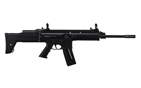 "ISSC MK22 Semi-Auto Rifle, 16.53"" Barrel, 22LR, BLK"