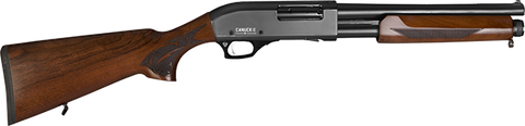 "Canuck Regulator Shotgun, Walnut Pistol Grip & Stock, 14.00"" Barrel, 12GA"