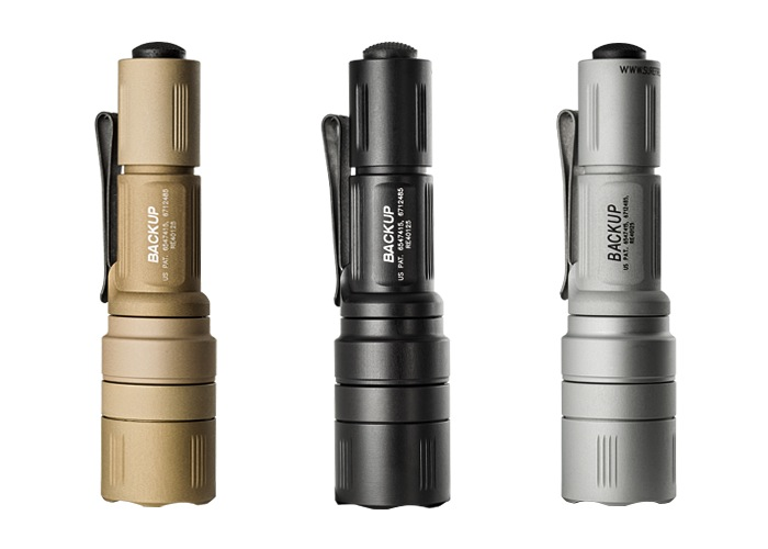 SureFire EB1 Backup, 200 Lumens, Tan