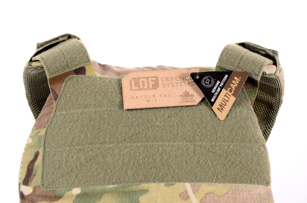LOF Defence Systems, Battle Tac M2 Plate Carrier, 10X12 Plate Size