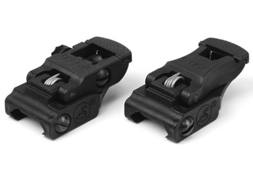 ARMS Low Profile Polymer Sight Set, Front & Rear