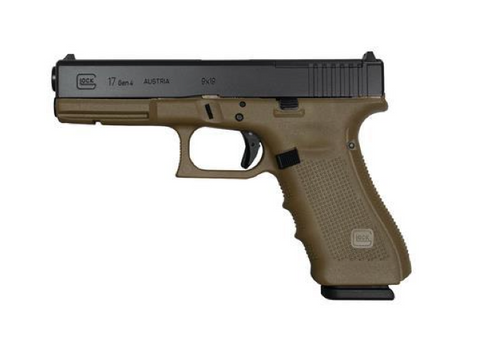 "Glock 17 Gen4 MOS, 4.48"" Barrel, 9mm, Olive Drab Green"