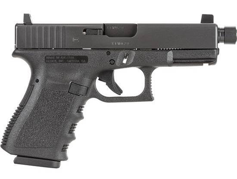 "Glock 23 Gen3, 4.49"" Threaded Barrel, 40 S&W, Black"
