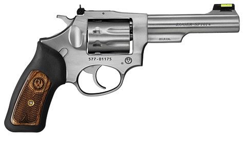 "Ruger Revolver SP101, 4.20"" Barrel, Stainless, 22LR"
