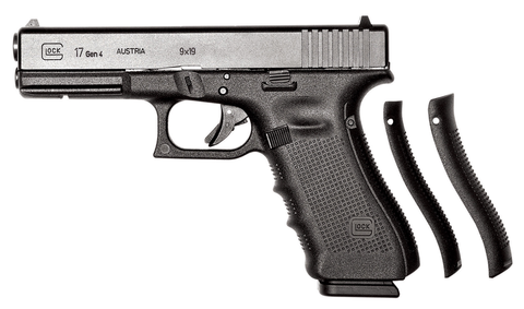 "Glock 17 Gen4, 4.48"" Barrel, 9mm, Black"