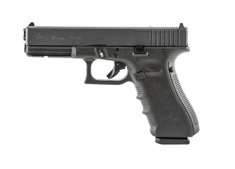 "Glock 17 Gen4 MOS, 4.48"" Barrel, 9mm, Black"