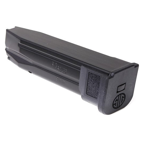 Sig Sauer P320 X-Five Magazine, Extended Base Pad, 9mm, 10 Round