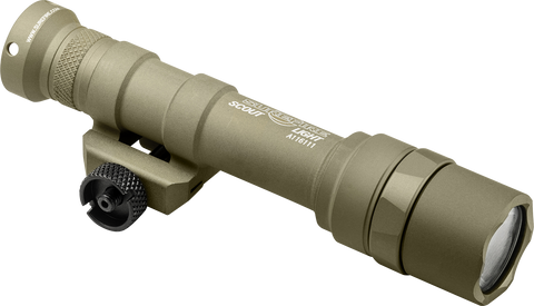 SureFire M600 Ultra Scout Light, 500 Lumens, Screw Mount, Z68 Tailcap, Tan