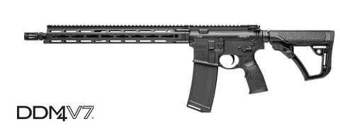 "Daniel Defense DDM4 V7 Carbine, 16.0"" Cold Hammer Forge Barrel, Black, 5.56mm"