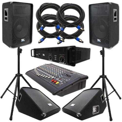 PA Speaker Packages