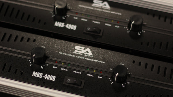 PA Amplifiers - Amps - DJ gear